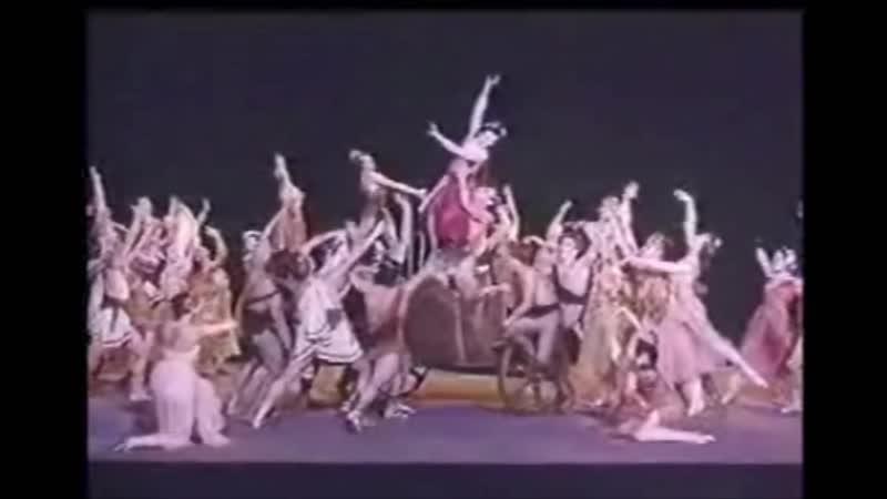 Татарский танец Вальпургиева ночь Краковяк Умирающий лебедь Уланова Г С