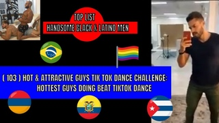 (103) HOT AND ATTRACTIVE GUYS  TikTok  dance  Challenge Hottest guys doing  Beat Tiktok dance