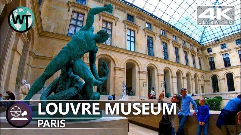 4K Virtual Tour Inside Louvre Museum Paris Napoleon Apartments Part 2 France
