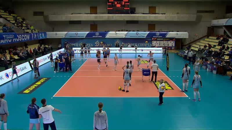 Волейбол. Женщины. Супер Лига Динамо-Москва - Сахалин 07_12_2019