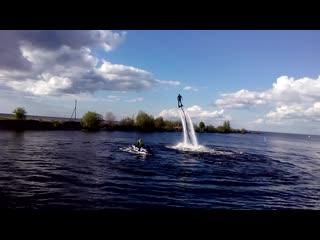 Полет над водой г.Белозерск