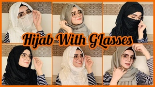 Hijab With Glasses | Hijab With Niqab | Winter Easy Hijab Tutorial 2020 | Dietitian Aqsa