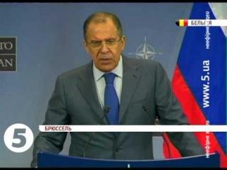 Лавров розкритикував заяви НАТО щодо України