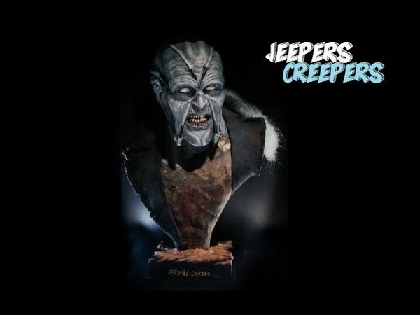 Jeepers Creepers prop bust by Art by UM.