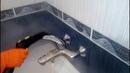Уборка ванной комнаты от клининговой компании Чистый дом г. Донецк.