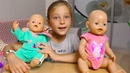 БЕБИ БОН СБОРНИК видео с куклами Беби Борн Евой и Лизой Baby Born doll