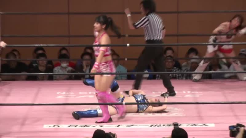 Maki Ito Miu Watanabe Miyu Yamashita vs Hikari Noa Rika Tatsumi Shoko Nakajima