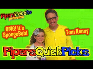 TOM KENNY Doing SPONGEBOB, the ICE KING and MORE! Interview w PIPER REESE! (PQP 097)