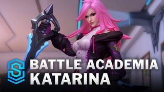 Battle Academia Katarina Wild Rift Skin Spotlight