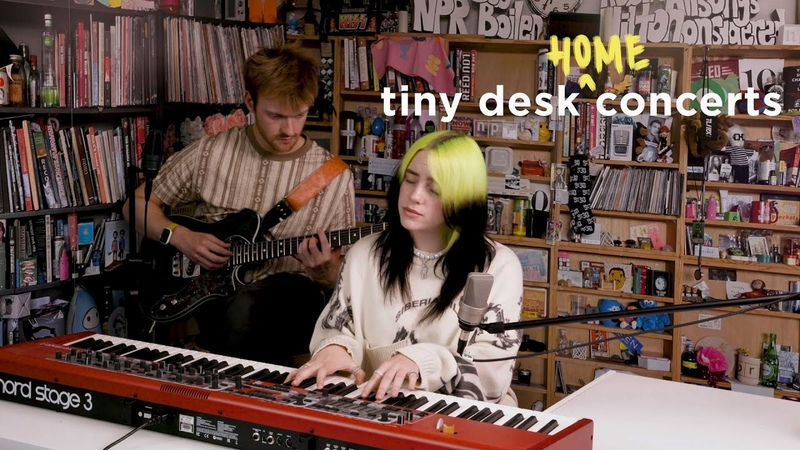 Billie Eilish Tiny Desk Home Concert