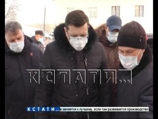Глеб Никитин посетил с рабочим визитом Чкаловский район