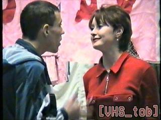 Спектакль студентов заочного актёрского отделения ТУИиК. Тобольск, 1998 год.