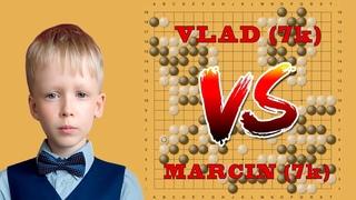 Стрим 1. Vlad (7k) против Marcin (7k)