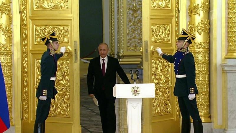 Владимир Путин принял верительные грамоты у 20 новых послов