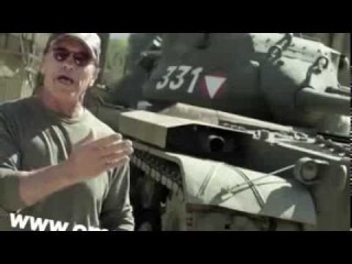 Arnold Schwarzenegger Crushes Things In A Giant Tank For A Good Cause