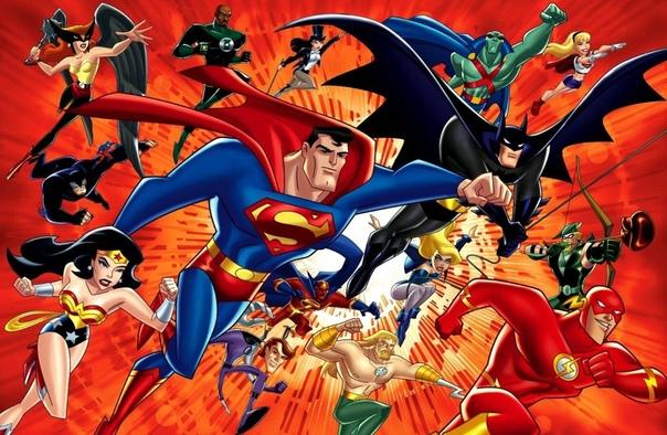 justice league cartoon - HD1920×1200