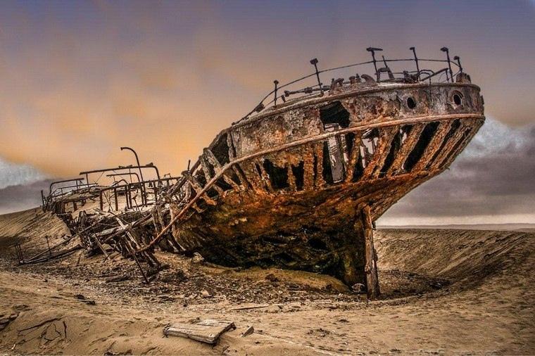 Интересные места нашей планеты Берег скелетов (Намибия), изображение №6