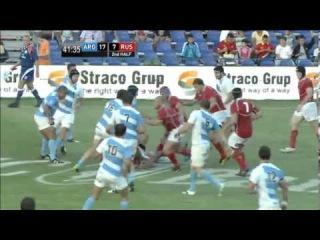 IRB Nations Cup 2013 - Argentina Jaguars vs Russia