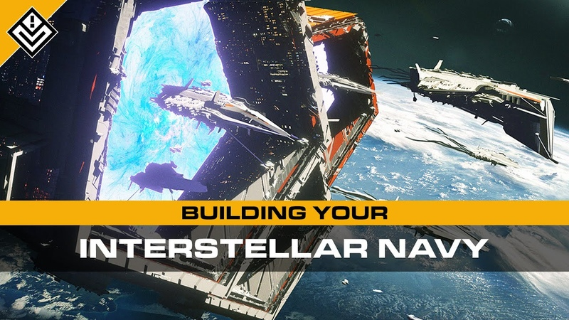 Building Your Interstellar Navy Ship Types Naming Conventions Fleet Doctrines