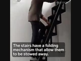 Лестница, которую может сложить даже ребенок