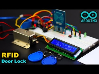 Arduino RFID Door Lock System with LCD Display