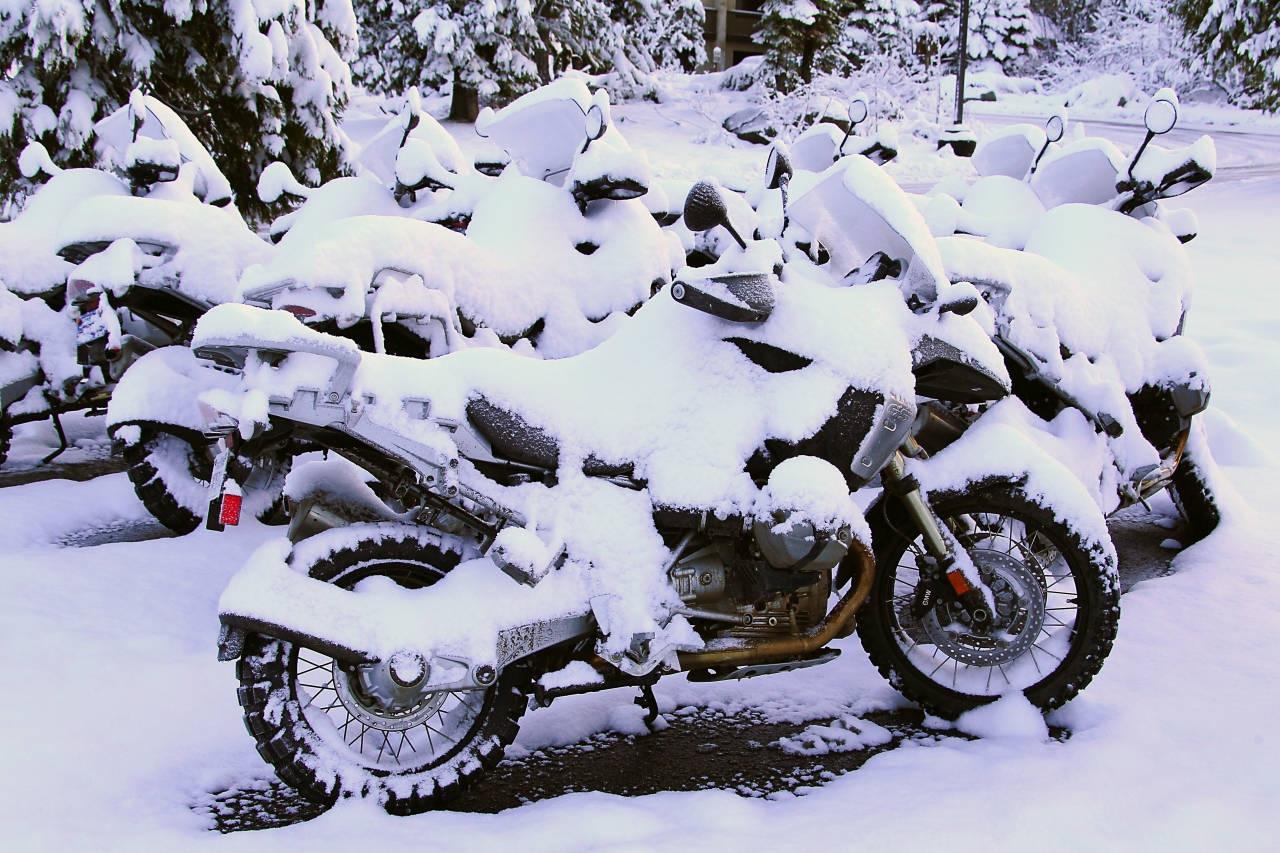 зима мотоцикл картинки унылый шататель
