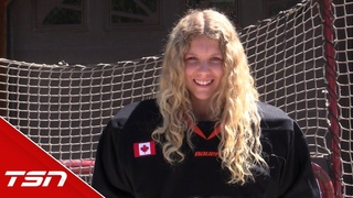 Taya Currie talks about being the first-ever woman to be chosen in the OHL Draft