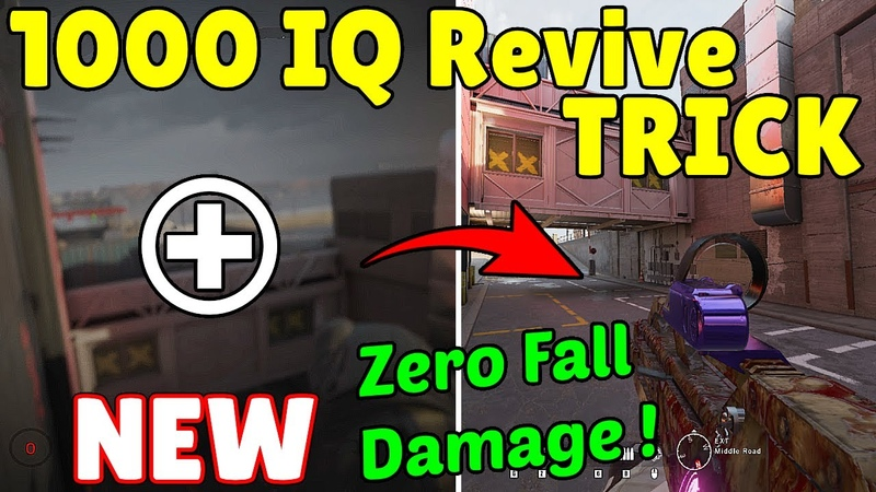 The * NEW * 1000 IQ Revive Trick To Take ZERO DAMAGE Oryx Climbs TWO Hatches Rainbow Six Siege