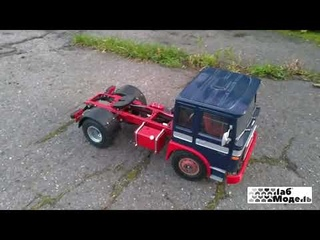 RC Tractor Truck MAN F8 in scale 1/14