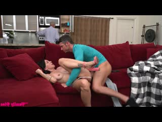 Riley Jean - Dont Wake Grandpa [All Sex, Blowjob, Cowgirl, Creampie, Deep Throat]