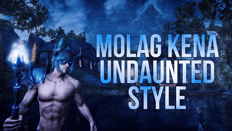 ESO Molag Kena Undaunted Style Preview of the Molag Kena Outfit Style for The Elder Scrolls Online