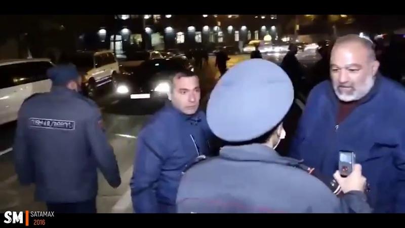 Родственники пропавших без вести солдат пытались прорваться к Пашиняну Ереван 2020