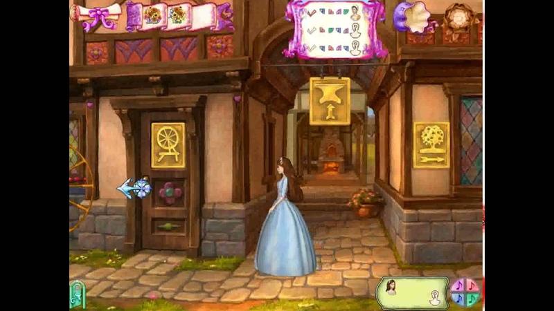 Полное Прохождение Игры Принцесса И Нищенка №15 Подборка Барби Компиляция ПК Игры