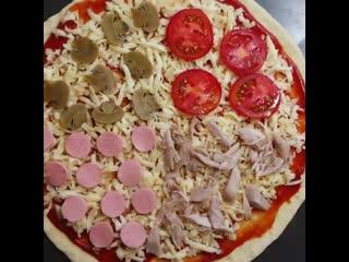 Пицца 4 сезона.. Теперь это моя любимая пицца