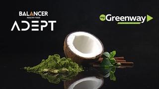 Новые коктейли BALANCER ADEPT на кокосовом молоке