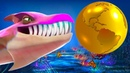 Акула НЕССИ в Hungry Shark Evolution 3 ЛОХНЕССКОЕ ЧУДОВИЩЕ Кида и ПОЖИРАКА КРАКЕН на крутилкины