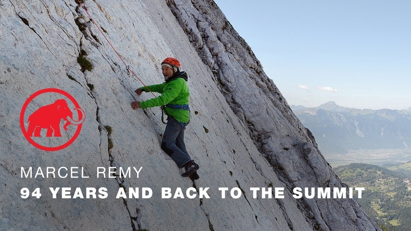 Marcel Remy 94 years old and back to the summit FULL 24 MINUTE VERSION