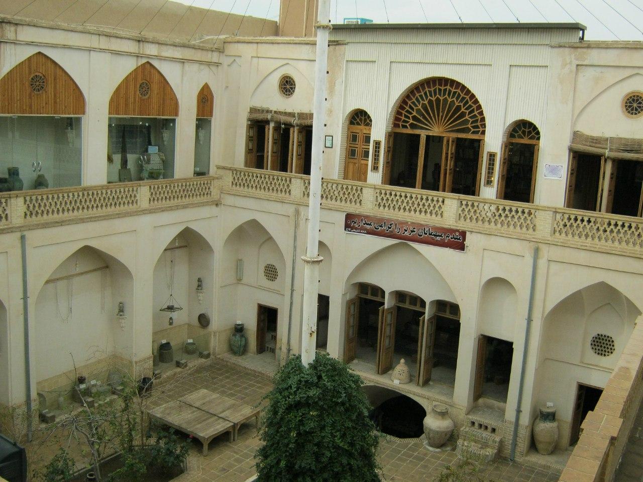 old mansions at Kashan