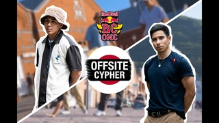 B-Boy Issei & B-Boy Victor cyphering with Uki on Fire & Hokt|Red Bull BC One Cypher Japan 2019