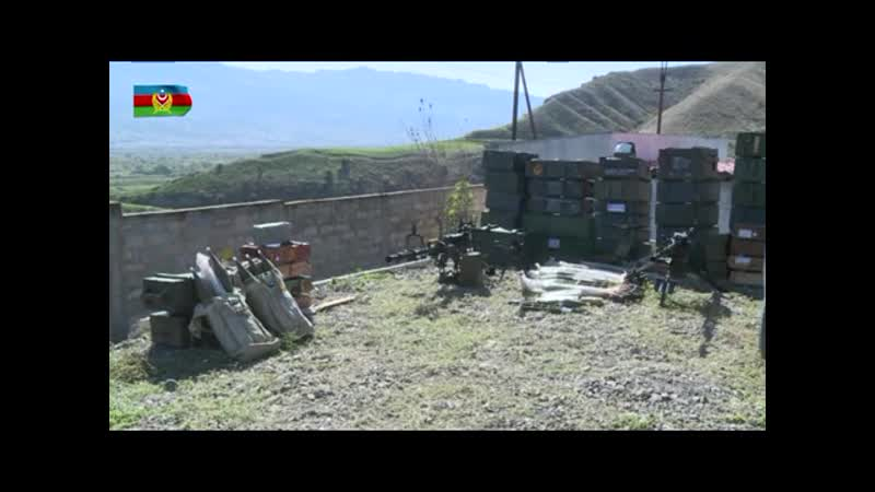 Трофеи Азербайджанская Армия захватила трофи у армян