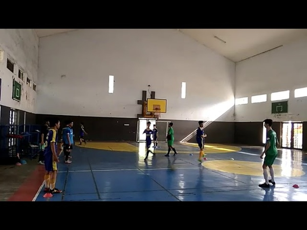 Futsal Training Passing Wall Pass Espirito Futsalismo