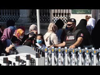 В Стамбул вернулись туристы, Святая София стала уже другой