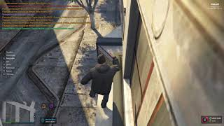Неудачный паркур в GTA V RP InSquad