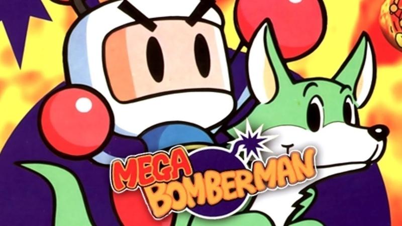 Mega Bomber Man SEGA Полное прохождение
