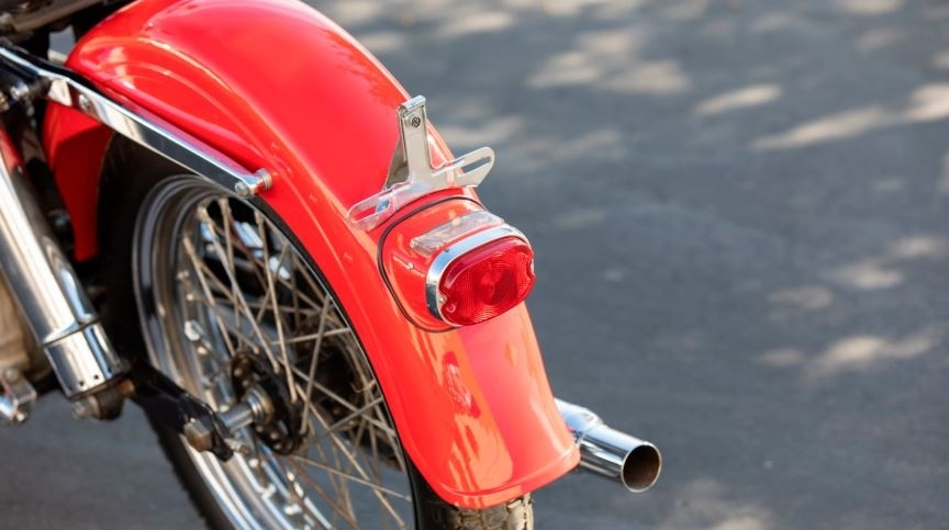 Отреставрированный Harley-Davidson Sportster 1-го поколения