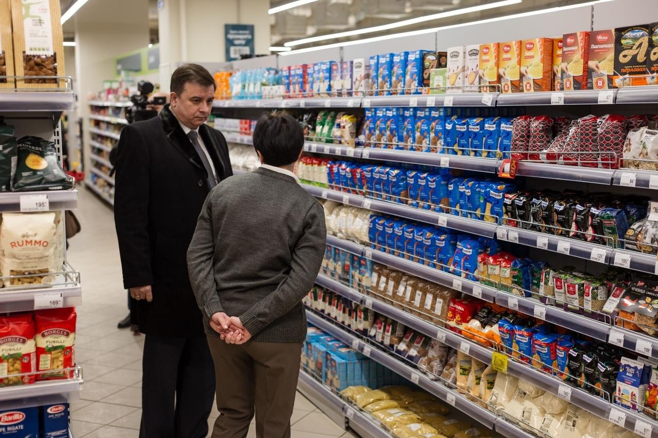 Курская администрация взяла на контроль цены на социально значимые товары в магазинах