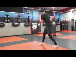 Kickboxing Classes For Adults - E14 Advanced - Sensei Mike Trizano _ Tiger Schul