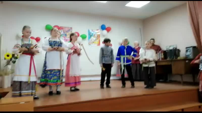 Детский фольклорный ансамбль Красноцвет р п Маслянино рук Дмитриева К О