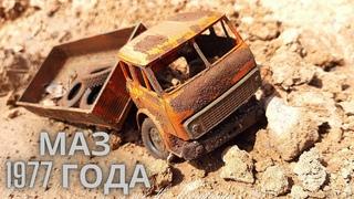 Реставрация Модели Грузовика МАЗ 5335.