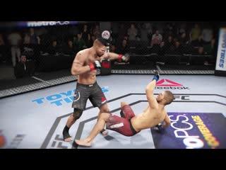 Хабиб Нурмагомедов vs ЮРИЙ БОЙКА(YURI BOYKA) БОЙ в UFC